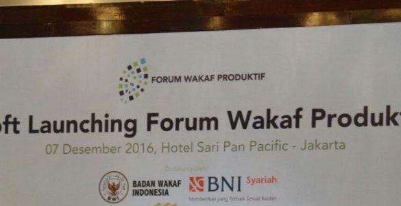 forum wakaf produktif  - forumwakaf 585x300 - Forum Nazhir Wakaf Produktif Dukung GNWU