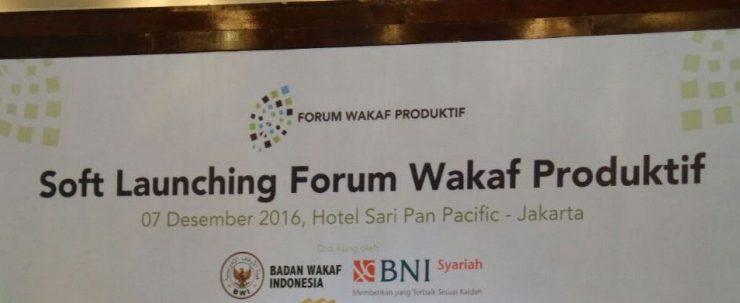 forum wakaf produktif  - forumwakaf 740x303 - Forum Nazhir Wakaf Produktif Dukung GNWU