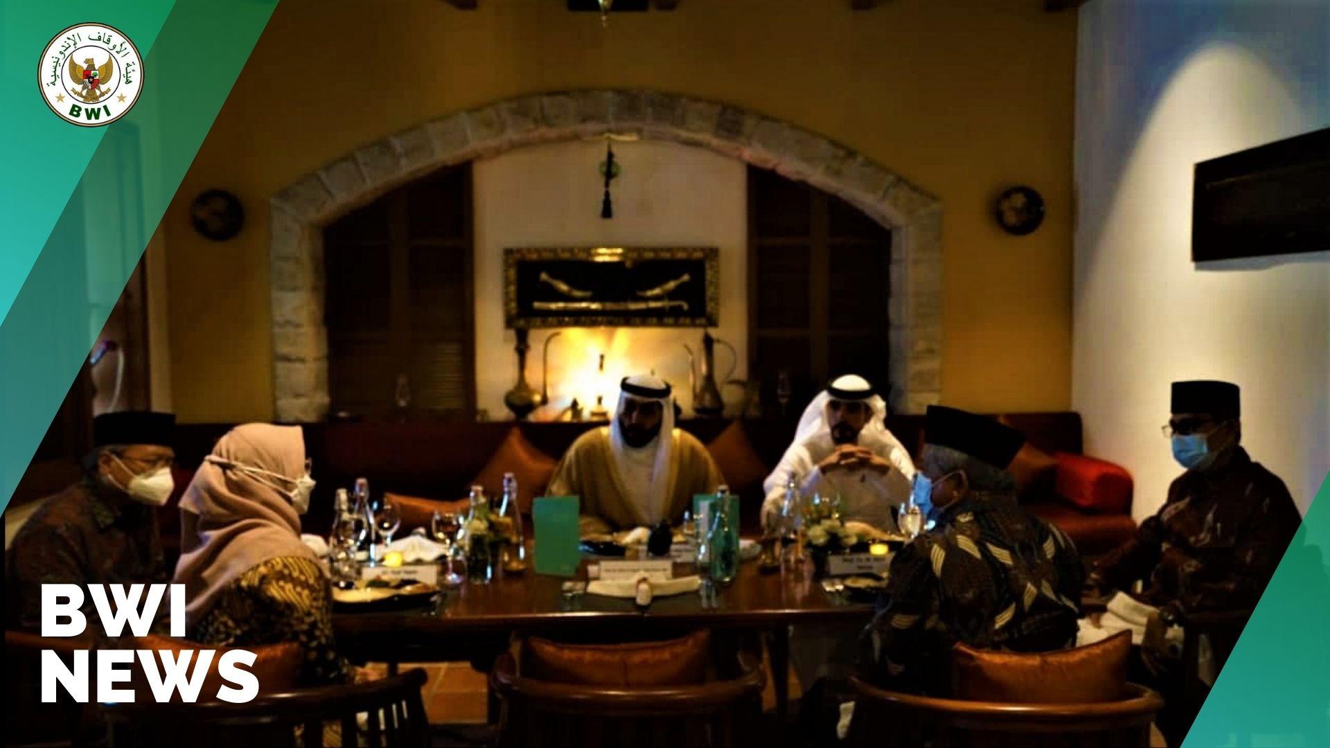 Bertemu Ketua Otoritas Wakaf UEA, BWI Buka Kerjasama Wakaf Produktif untuk Layanan Publik  - BWI Bertemu Otoritas Umum Urusan Islam dan Wakaf UEA BWI News - Bertemu Ketua Otoritas Wakaf UEA, BWI Buka Kerjasama Wakaf Produktif untuk Layanan Publik