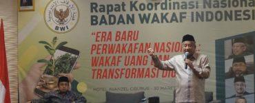 Gelar Rakornas, BWI Sampaikan Program Priotas  - Gelar Rakornas BWI Sampaikan Program Priotas 370x150 - Gelar Rakornas, BWI Sampaikan Program Prioritas 2021-2024