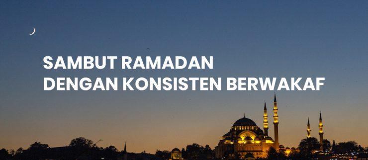 Sambut Ramadan dengan Konsisten Berwakaf  - BWI Bayu Rian Ardiyansah 740x322 - Sambut Ramadan dengan Konsisten Berwakaf