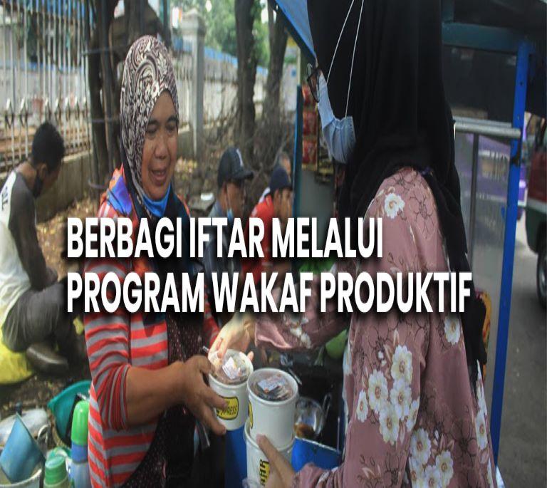 Berbagi Iftar Melalui Program Wakaf Produktif  - BWI IFTHAR Liya Sulistiyanti - Berbagi Iftar Melalui Program Wakaf Produktif