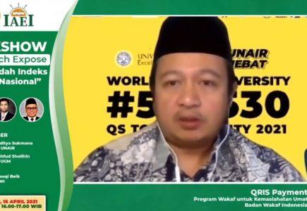 BWI Luncurkan IWN  - BWI Luncurkan IWN 435x300 - Badan Wakaf Indonesia Resmi Luncurkan IWN