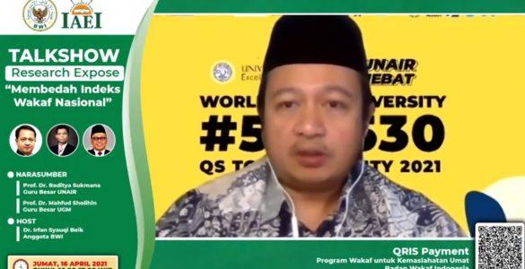 BWI Luncurkan IWN  - BWI Luncurkan IWN 585x300 - Badan Wakaf Indonesia Resmi Luncurkan IWN