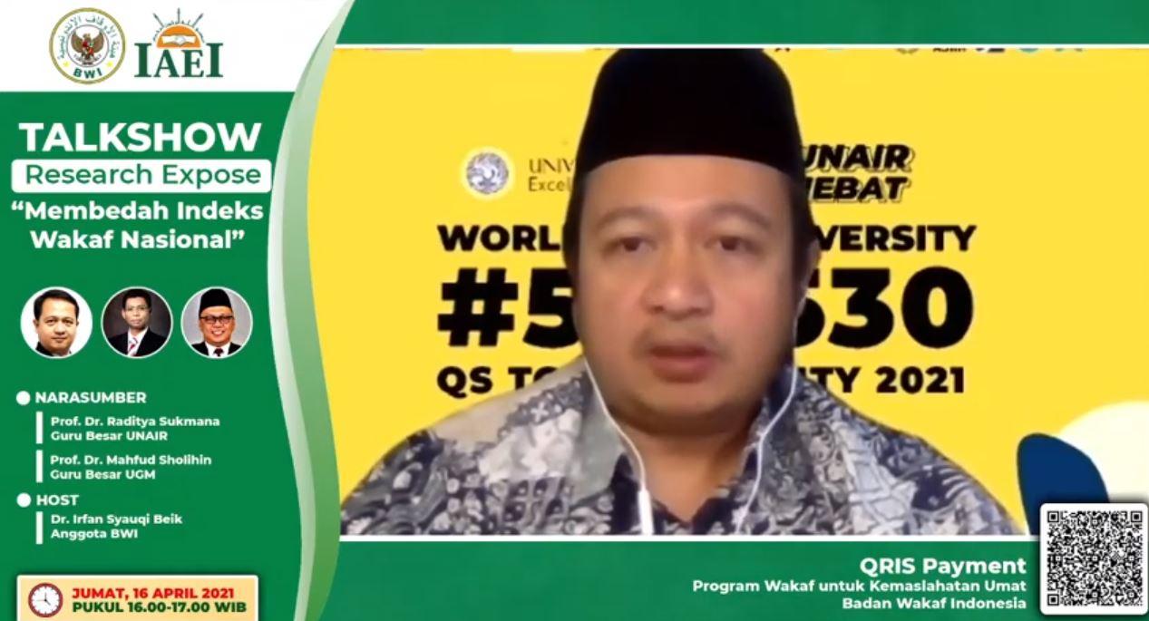 Badan Wakaf Indonesia Resmi Luncurkan IWN  - BWI Luncurkan IWN - Badan Wakaf Indonesia Resmi Luncurkan IWN
