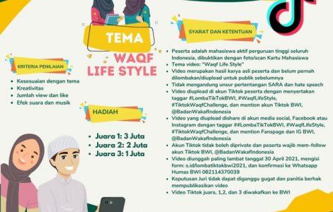"""Lomba Tiktok, Tema: """"Waqf Life Style""""  - IMG 20210414 WA0024 470x300 - Lomba Tiktok, Tema: """"Waqf Life Style"""""""