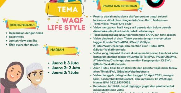 """Lomba Tiktok, Tema: """"Waqf Life Style""""  - IMG 20210414 WA0024 585x300 - Lomba Tiktok, Tema: """"Waqf Life Style"""""""