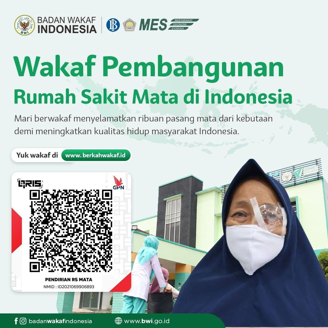 Wakaf Pembangunan Rumah Sakit Mata di Indonesia
