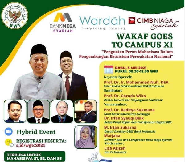 Materi Wakaf Goes TO Campus Virtual 2021  - WGTC 2021 - Materi Wakaf Goes TO Campus Virtual 2021