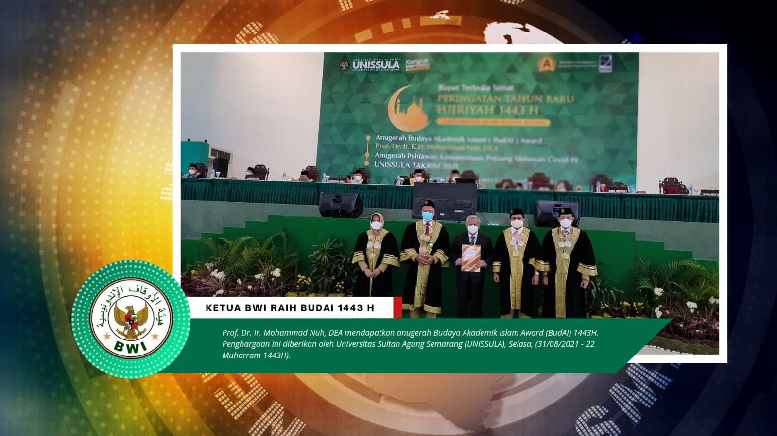 Ketua BWI Raih Anugerah Tokoh Peduli Pendidikan Kaum Dhuafa  - IMG 20210831 WA0012 - Ketua BWI Raih Anugerah Tokoh Peduli Pendidikan Kaum Dhuafa